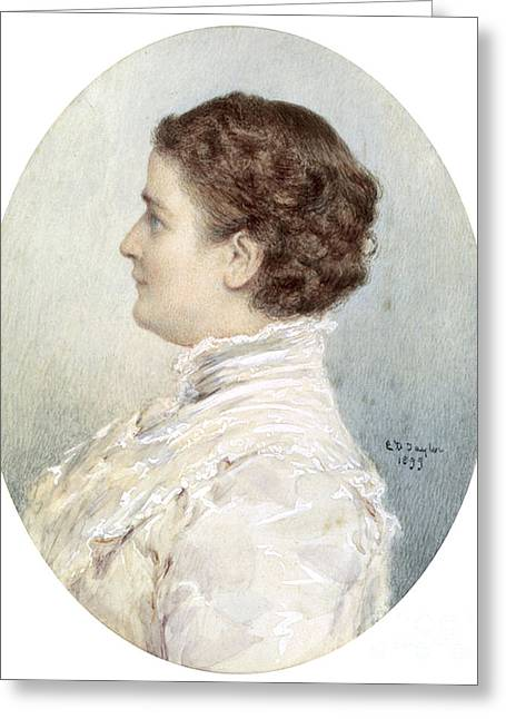 Ida Mckinley, First Lady Greeting Card by Science Source