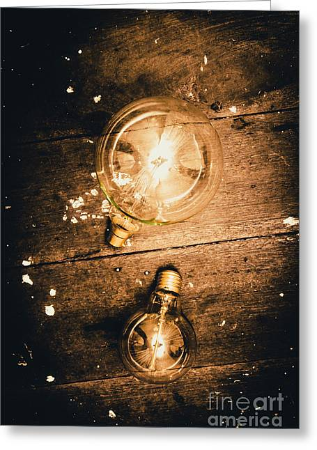 Ideas Evolution Greeting Card by Jorgo Photography - Wall Art Gallery