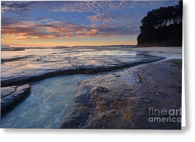 Jervis Greeting Cards - Idyllic Plantation Point Jervis Bay Greeting Card by Leah-Anne Thompson