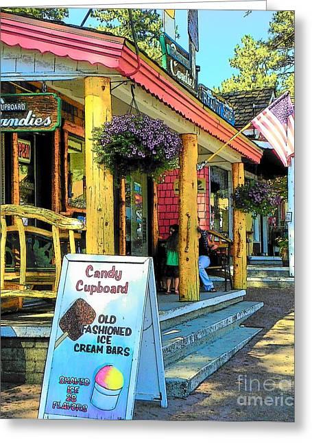 Idyllwild Greeting Cards - Idyllwild Candy Cupbord 117 Greeting Card by Lisa Dunn