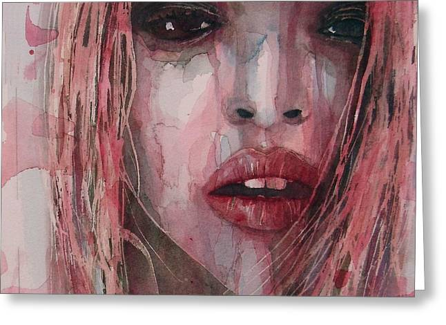 Business Woman Greeting Cards - If I Can Dream  Greeting Card by Paul Lovering