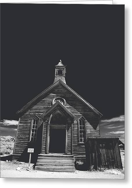 If You Should Pass Through These Doors Greeting Card by Laurie Search