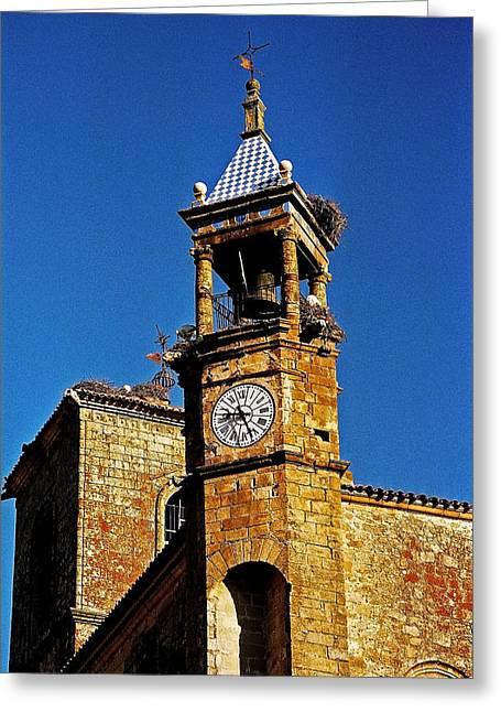 Extremadura Greeting Cards - Iglesia de San Martin - Trujillo Greeting Card by Juergen Weiss