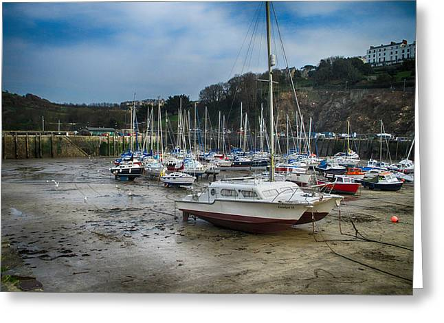 Yatch Greeting Cards - Ilfracombe Greeting Card by Sharon Lisa Clarke