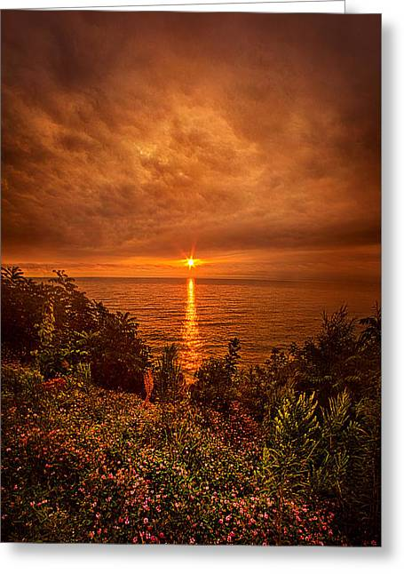 Life Line Greeting Cards - Ill Dream of You Again Greeting Card by Phil Koch