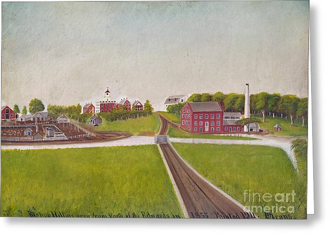 Bishop Hill Greeting Cards - Illinois: Bishop Hill Greeting Card by Granger