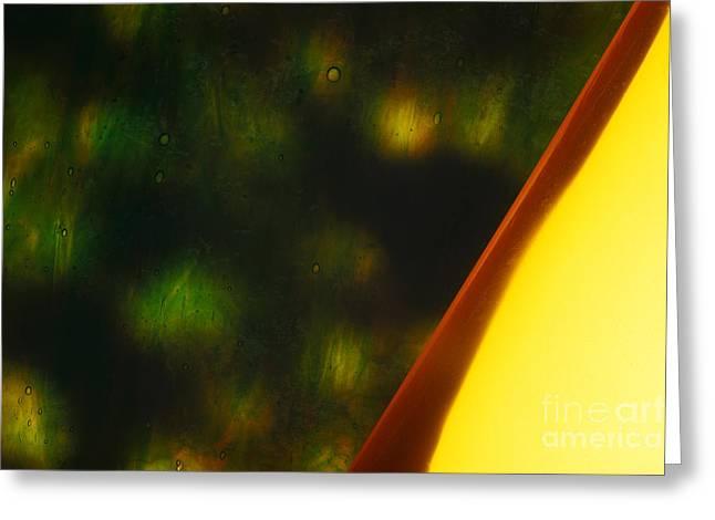 Abstract Shapes Greeting Cards - Illuminations 61 Greeting Card by Barbara Chase