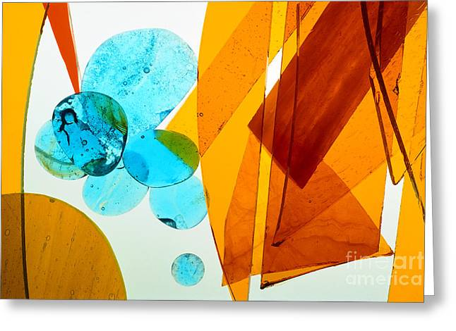 Geometric Shape Greeting Cards - Illuminations 94 Greeting Card by Barbara Chase