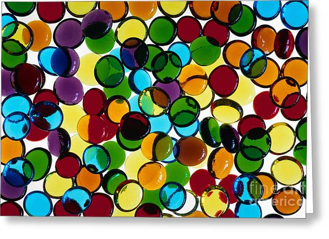 Abstract Geometric Greeting Cards - Illuminations 98 Greeting Card by Barbara Chase