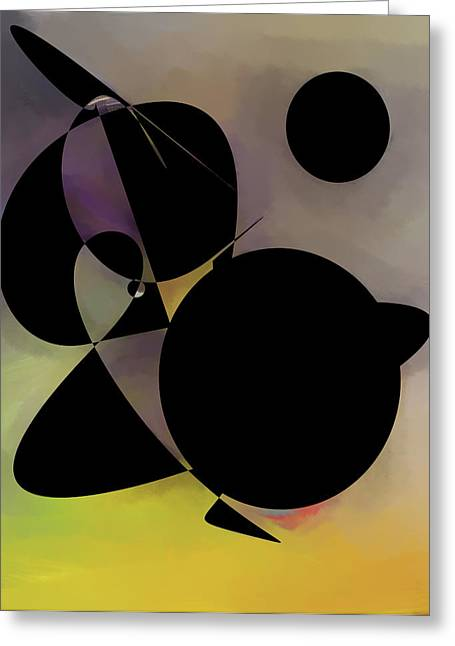 illusion Digital Creation  Greeting Card by Don  Wright
