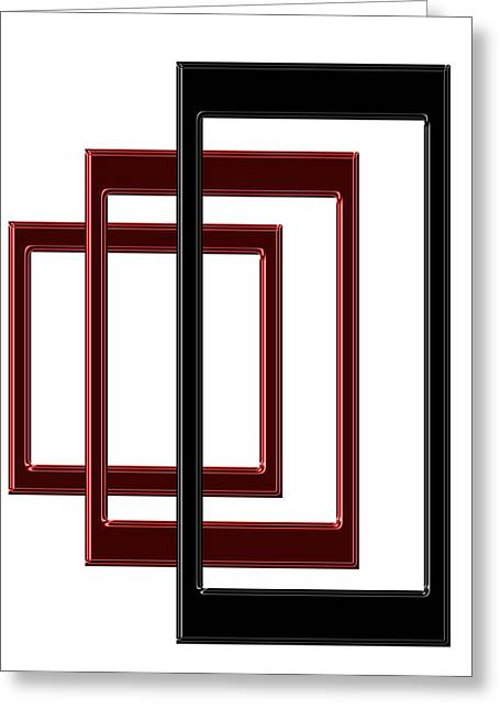 Installation Art Greeting Cards - illusion II Greeting Card by Tina M Wenger