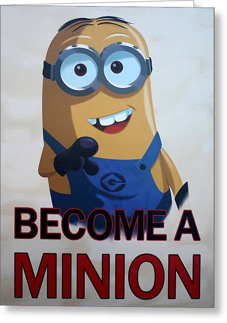 Despicable Me Greeting Cards - Im A Minion Greeting Card by David Nicholls