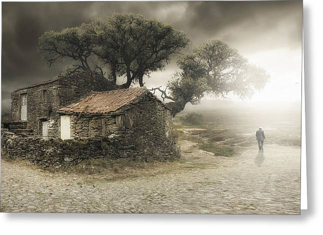 Fineart Greeting Cards - Im Leaving Greeting Card by Nuno Araujo