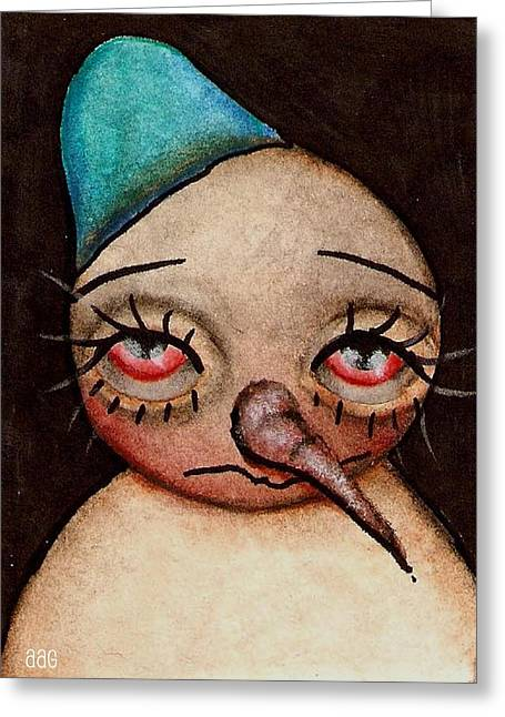 Paiting Greeting Cards - Im Sorry Greeting Card by  Abril Andrade Griffith
