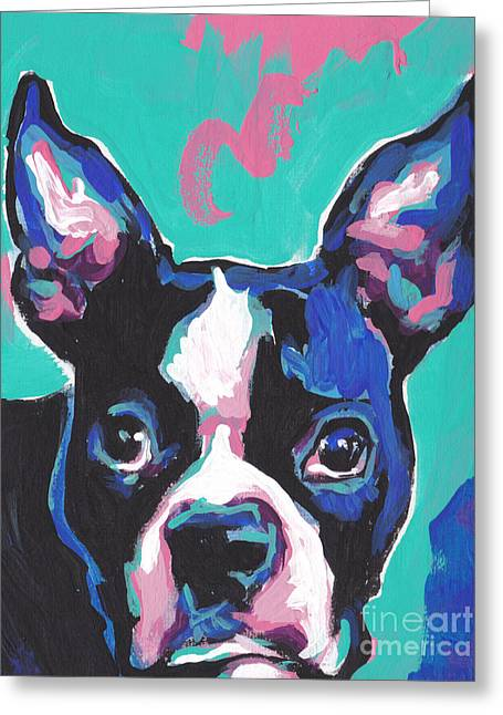 Popular Art Greeting Cards - Im The Boss...ton Greeting Card by Lea
