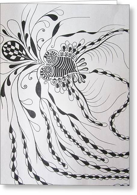 Imagination Greeting Card by Rosita Larsson
