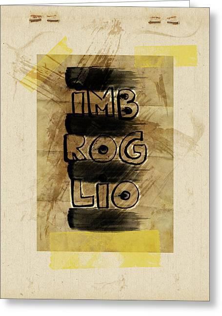 Imbroglio Greeting Cards - Imbroglio Greeting Card by Andrea Barbieri