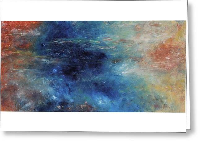 Impressionist Greeting Cards - Immersion Greeting Card by Anita Lewis