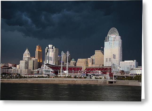 Ohio Pyrography Greeting Cards - Imminent Storm Greeting Card by Larry Snodgrass