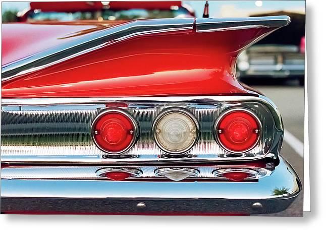 Impala Ss Convertible Greeting Card by Jon Woodhams