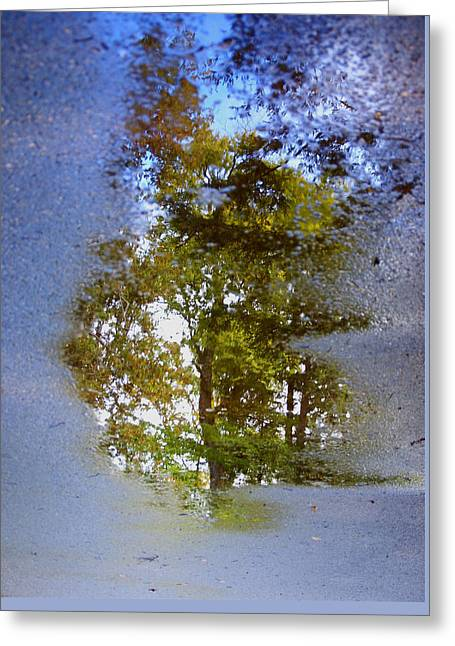 Reflecting Water Greeting Cards - Imperceptible Greeting Card by Martin Massari
