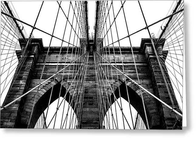 New York City Greeting Cards - Imposing Arches Greeting Card by Az Jackson
