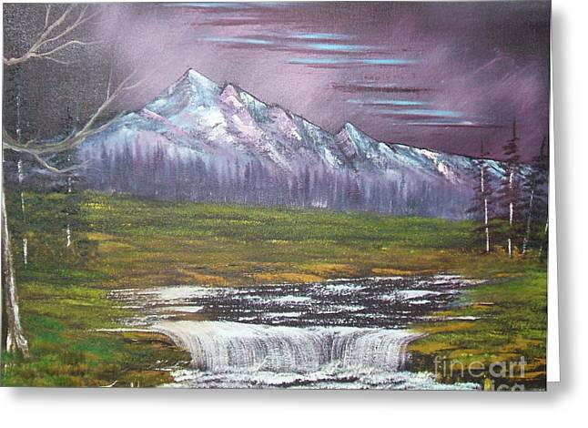 Bob Ross Paintings Greeting Cards - Impressions in Oil - 14 Greeting Card by Bill Turck