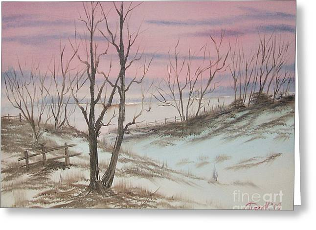 Impressions In Oil - 17 Greeting Card by Bill Turck