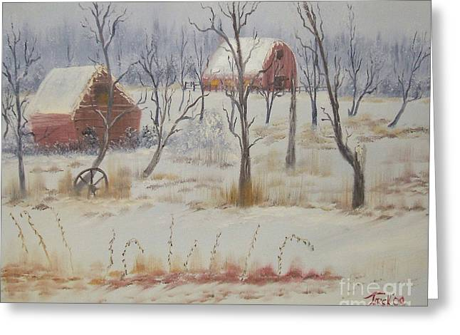 Impressions In Oil - 19 Greeting Card by Bill Turck