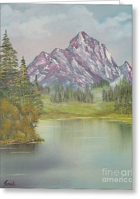 Impressions In Oil -13 Greeting Card by Bill Turck