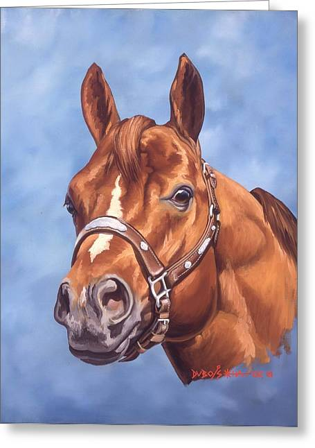 Artist Greeting Cards - Impressive Greeting Card by Howard Dubois