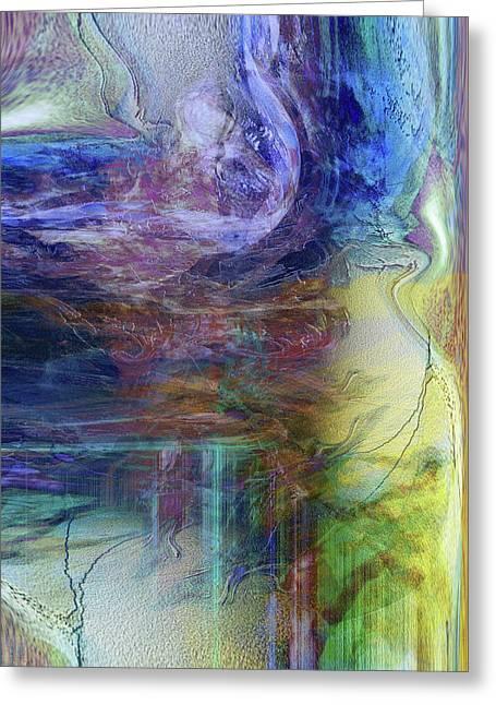 Digital Expressions Greeting Cards - In Between Greeting Card by Linda Sannuti