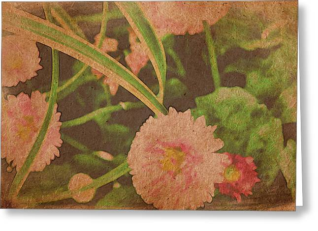 Flower Blossom Greeting Cards - In Every Garden Greeting Card by Bonnie Bruno