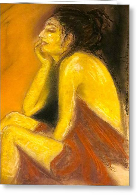 Sienna Greeting Cards - In light of Day Greeting Card by C Pichura
