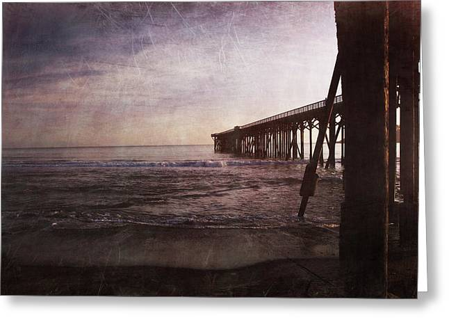 Pier Digital Greeting Cards - In My Dreams Im Always With You Greeting Card by Laurie Search