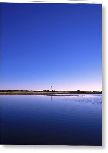 New England Coast Line Greeting Cards - In the Blue Greeting Card by Evelina Kremsdorf