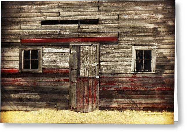 Country Cottage Digital Art Greeting Cards - In the Details Greeting Card by Julie Hamilton