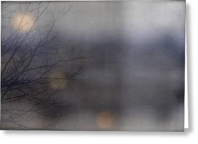 Frosting Digital Greeting Cards - In the Distance Greeting Card by Svetlana Neskovska