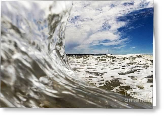 Surf Photos Art Greeting Cards - In The Drink Greeting Card by Dan Holm