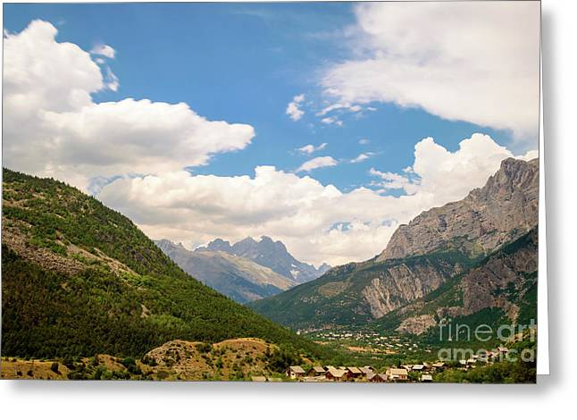 In The Mountains, French Alps Greeting Card by Sinisa CIGLENECKI