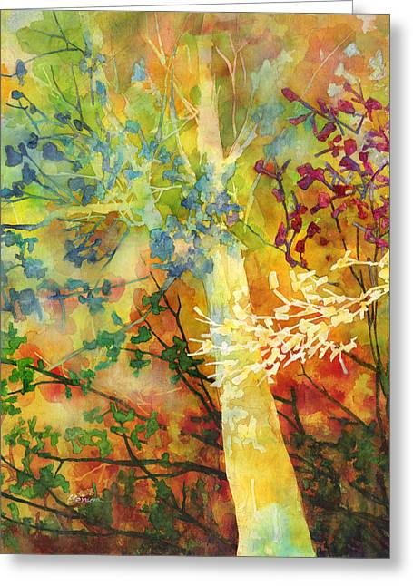 In The Woods Greeting Card by Hailey E Herrera