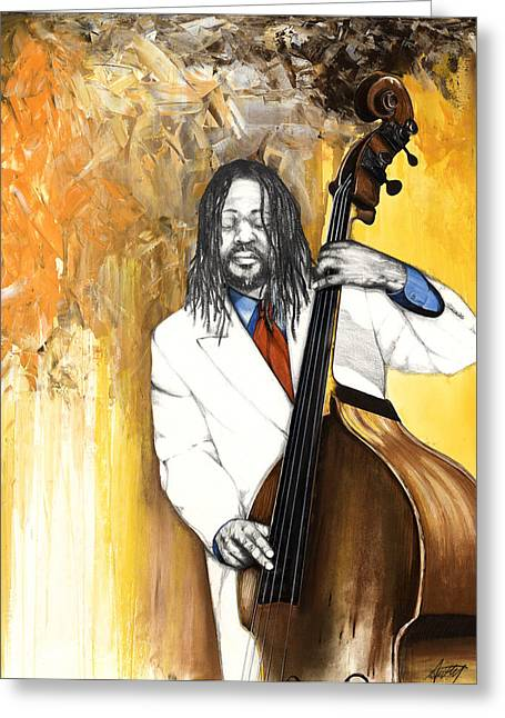 Spirt Greeting Cards - Inauguration Greeting Card by Anthony Burks Sr