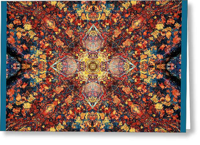 Sacred Geometry Photographs Greeting Cards - Incarnation Greeting Card by Bell And Todd