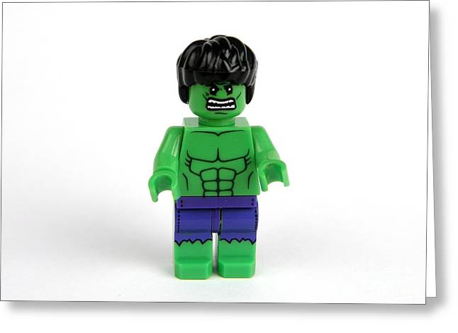 Bruce Banner Greeting Cards - Incredible Hulk Greeting Card by Christina Stanley