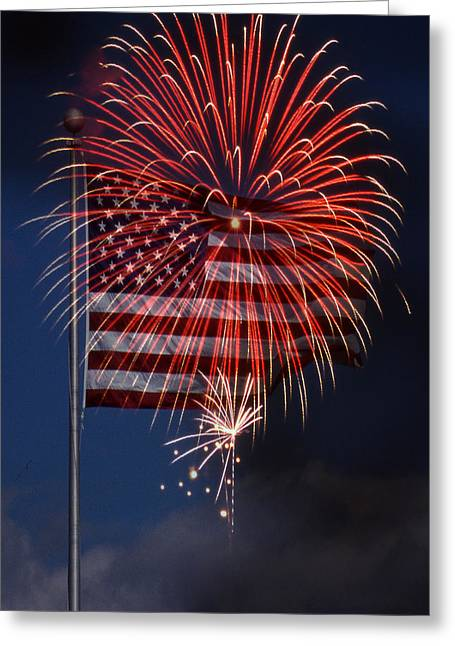 4th July Greeting Cards - Independence Day Greeting Card by Skip Willits