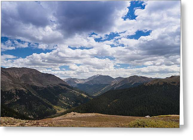 Independence Park Greeting Cards - Independence Pass Colorado Greeting Card by Steve Gadomski