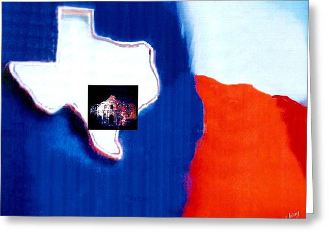 Usa Digital Greeting Cards - Independence Texas Greeting Card by Jacquie King