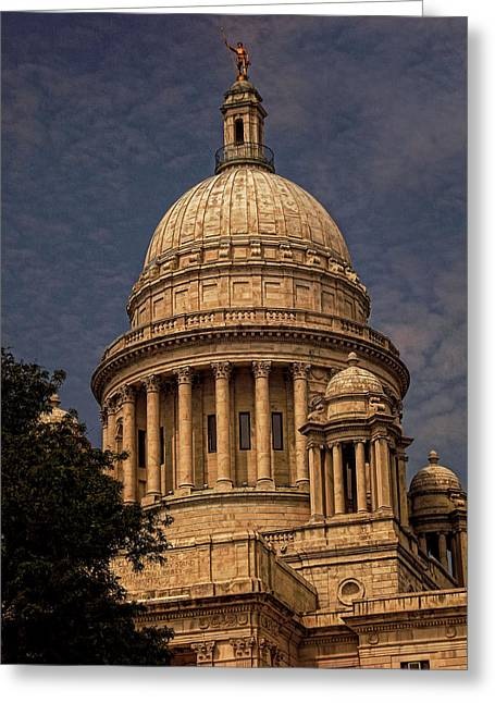 Capitol Greeting Cards - Independent Man Greeting Card by Lourry Legarde