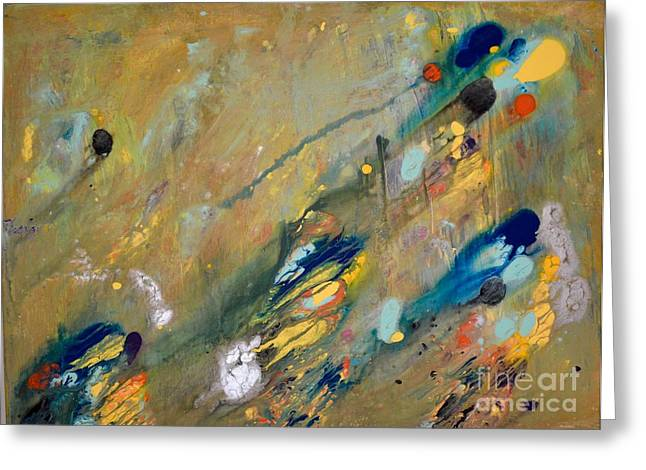 Print On Canvas Greeting Cards - Indescribable Greeting Card by Lynn R Morris