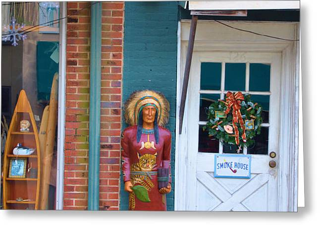 Indian Chief Greeting Card by Jan Amiss Photography